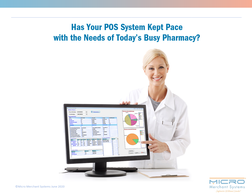 Has Your POS System Kept Pace with the Needs of Today's Busy Pharmacy?