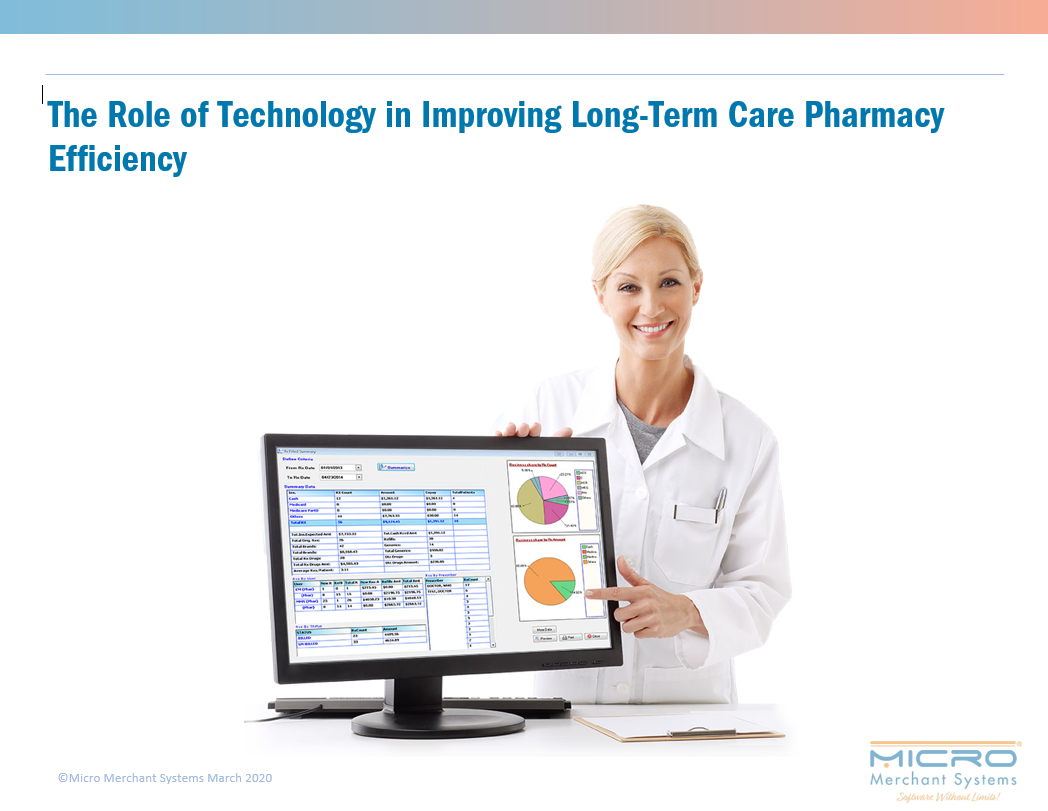 The Role of Technology in Improving Long-Term Care Pharmacy Efficiency